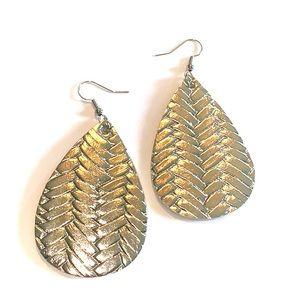 Jewelry - Leather earrings